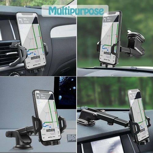 Car Mount Holder Dash/Windshield with Air Vent Clip for iPhone X XR XS Max 8 7 Plus