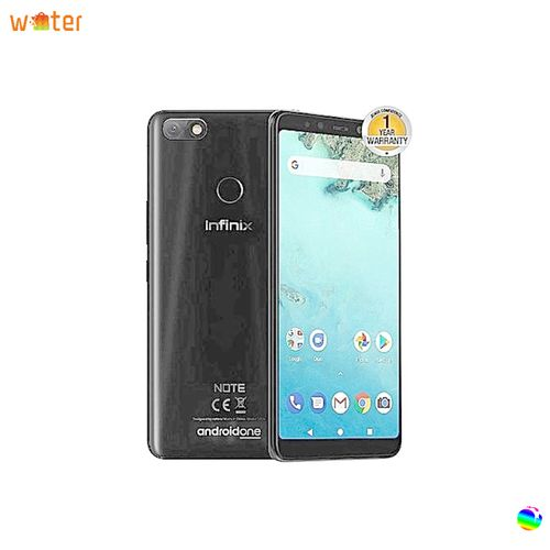 Infinix Note 5 (X604), 3GB Ram, 32GB Rom, 4G-Dual SIM - Mobile Phone Grey