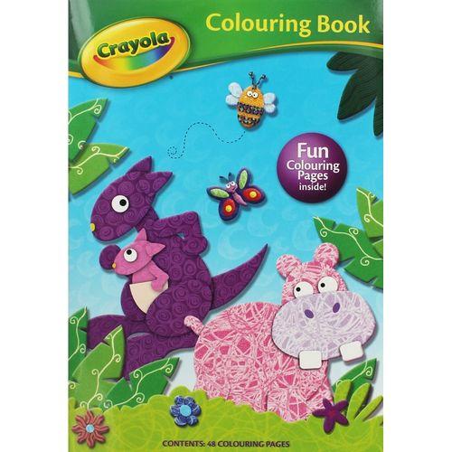 Crayola Colour  Bk-hippo