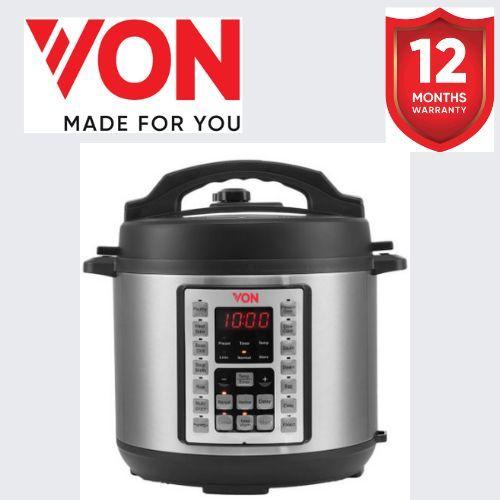 VON Hotpoint Pressure Cooker VSCP60MMX in Kenya Pressure Cooker 1000W - 6L
