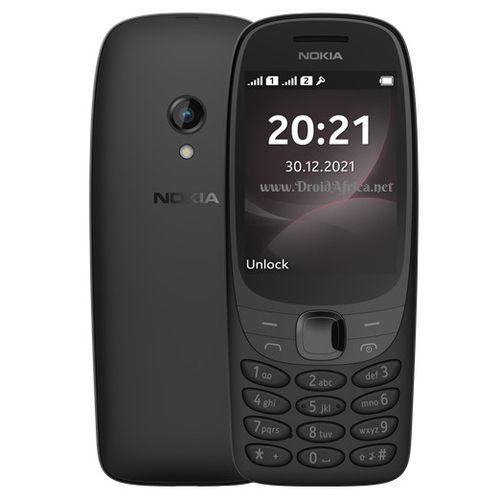 6310 (2021),Dual Sim,1150mAh,Flashlight,FM Radio,MP3 Player, Bluetooth -Black