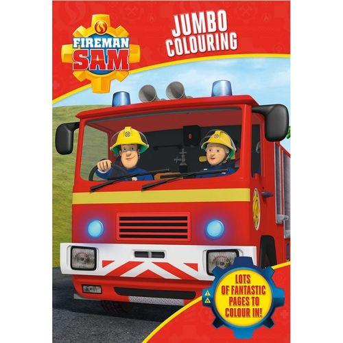 Fireman Sam Jumbo Col Bk