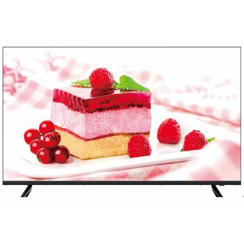 """VP8843K 43"""" Framless 4K UHD Smart TV - Black"""