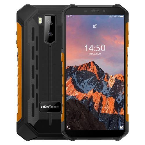 Armor X5 Pro Rugged Phone, 4GB+64GB, 5.5 Inch Android 10, 4G Smartphone - Orange