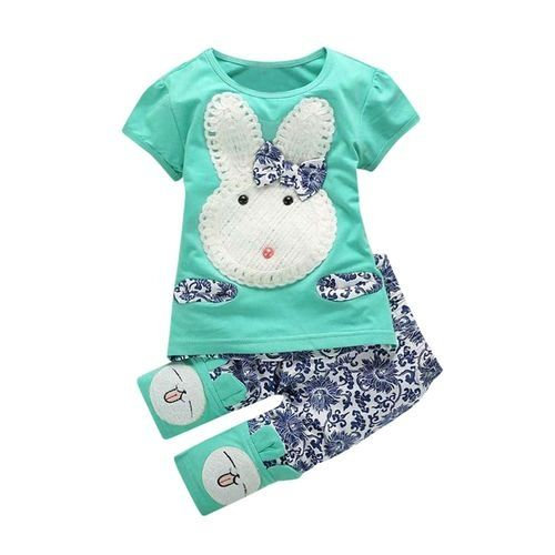Eissely Toddler Baby Girls Short Sleeve T-Shirt Tops ...