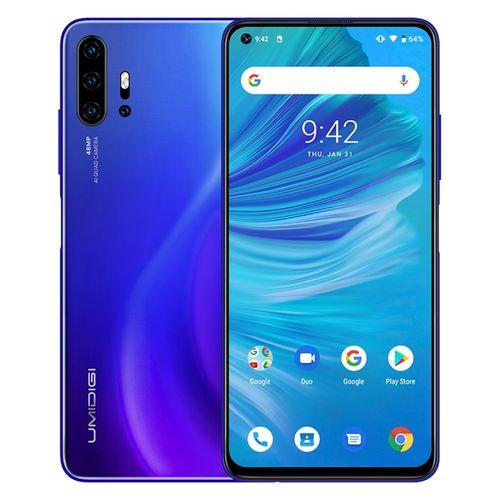 F2, 6GB+128GB, 48MP AI Quad Cameras, 6.53 Inch Android 10, 5150mAh Battery 4G Smartphone - Blue