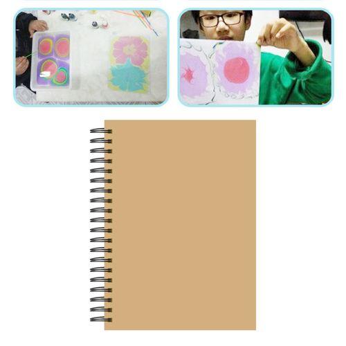 Art Crafts Paper Pad, Heavyweight, Hard Cover, Notebook Spiral Bound