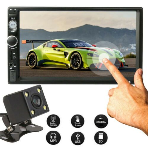 Generic Car Stereo Radio Player Bluetooth Touch Screen + Rear Camera @ Best Price Online Jumia