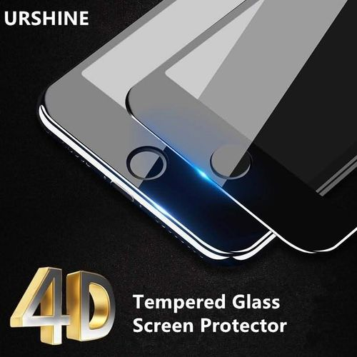 4D Curved Edge Full Cover Tempered Glass For IPhone 8 Plus Tempered Glass Screen Protector Curved Cover Protective Film For IPhone 8plus 5.5inch 150595 Color-0