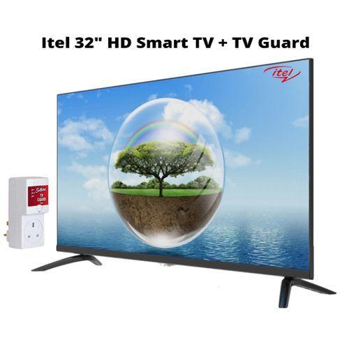 "I321,32""Frameless Smart Android TV + Free TV Guard"