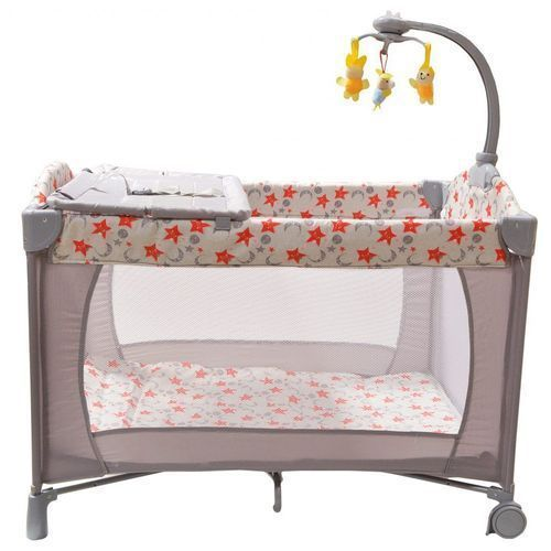 Generic Baby playpen bed baby crib with changing table ...