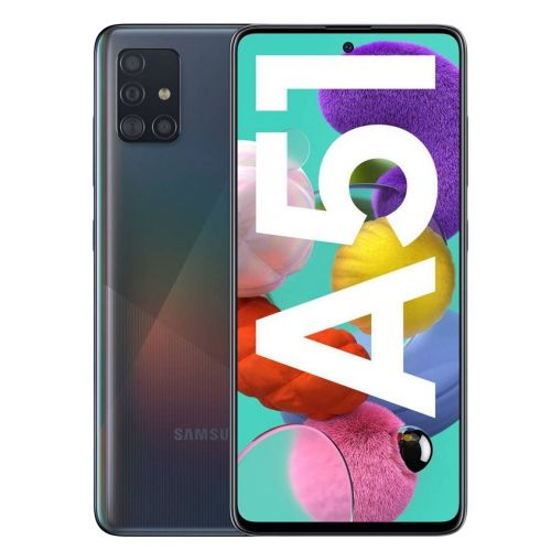 "Galaxy A51 - 6.5"", 6GB + 128GB - 4G - Dual SIM - Black"