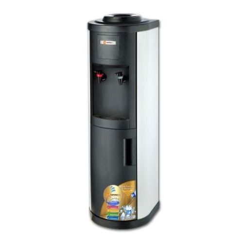 Hot and Cold Water Dispenser - Silver+Black