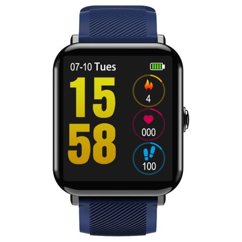 OUKITEL W2 1.3' 2.5D Screen Heart Rate Sleep Monitor Sports Mode Message Display 15Days Standby Smart Watch