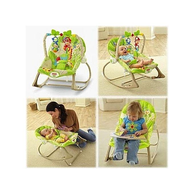 Infant To Toddler Rocker Seat Sleeper Swing