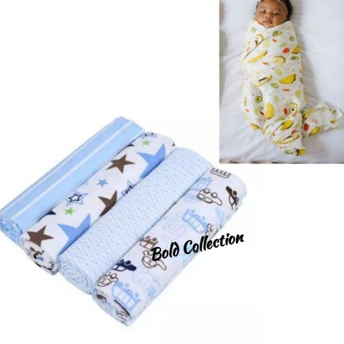 Fashion Cutest 4PACK Newborn Baby Boy Multi-Purpose Cotton ...
