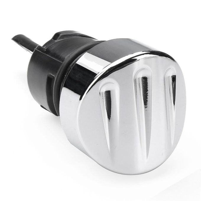 1x Deep Cut Billet O il Dipstick Tank Plug Cap For Harley Sportster XL 883  04-17 Chrome