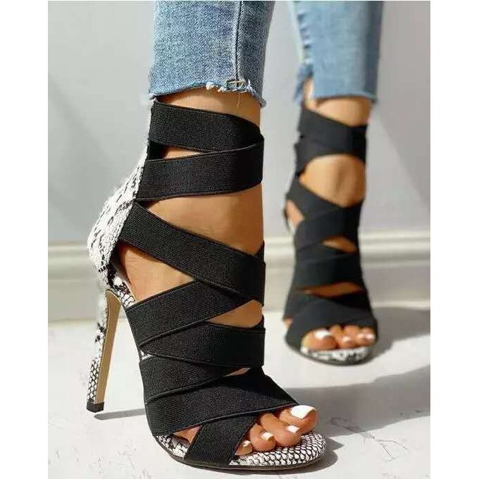 Plus Size Ladies Heels Fashion High