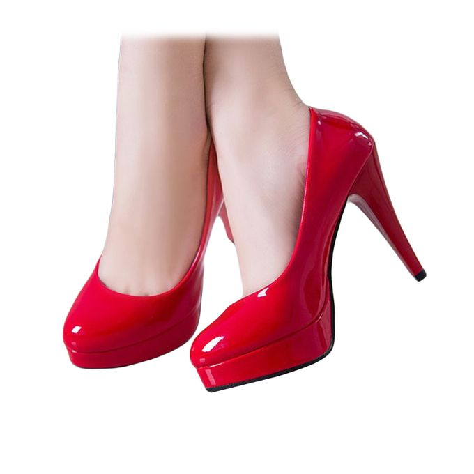 Fashion Women S High Heel Waterproof Shoes Women S Shoes Best Price Online Jumia Kenya
