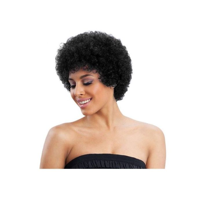 Synthetic Wigs Curly Hair Wig with Bangs