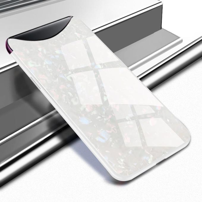 Generic Oppo Find X Case Ultra Thin Clear Glass Back With Soft