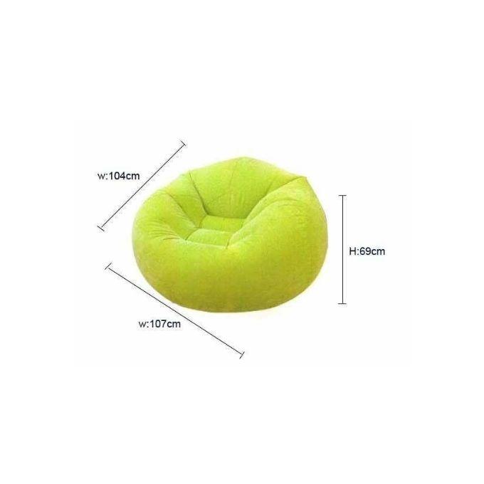 Incredible Beanless Bean Bag Chair Green Dailytribune Chair Design For Home Dailytribuneorg