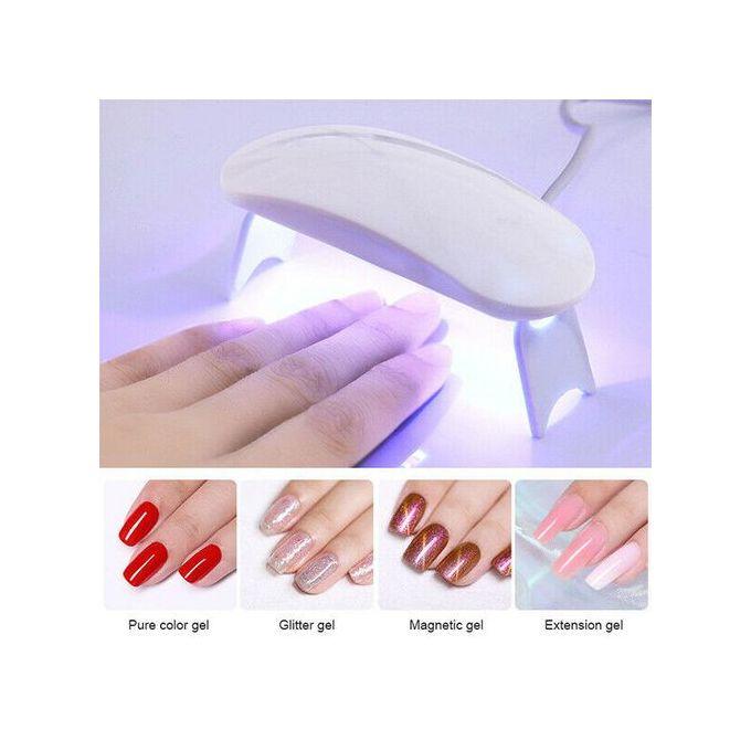 Fashion Professional Uv Nail Lamp Dryer Gel Polish Manicure Curing Light Gel Nail Art Curing Lamp Dryer Manicure Light Acrylic Gelish Gel Timer Best Price Online Jumia Kenya