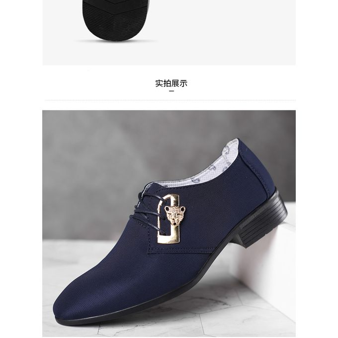 product_image_name-Fashion-Men England Formal PU Leather Shoes Loafers Oxford-2