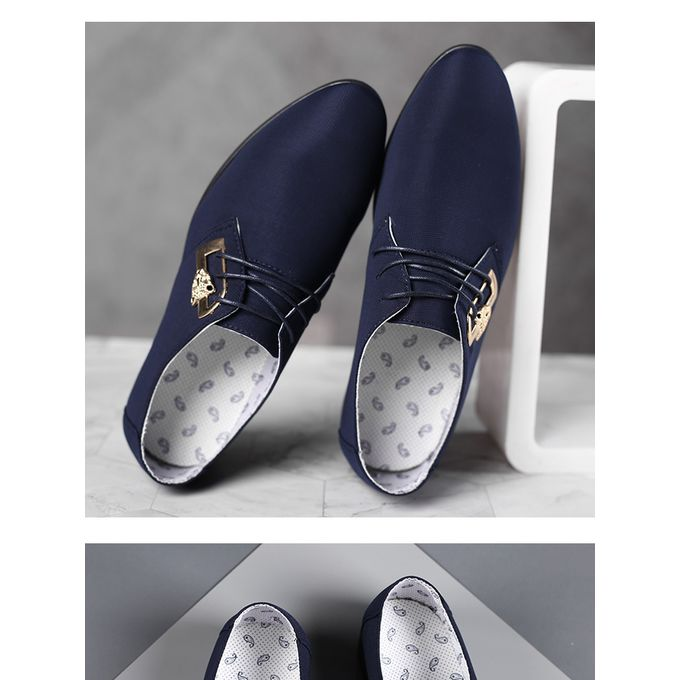 product_image_name-Fashion-Men England Formal PU Leather Shoes Loafers Oxford-3