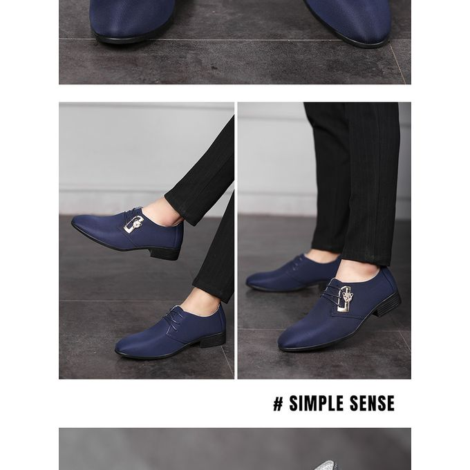 product_image_name-Fashion-Men England Formal PU Leather Shoes Loafers Oxford-5