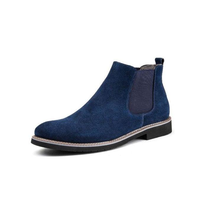 Fashion Men Chelsea boot blue @ Best