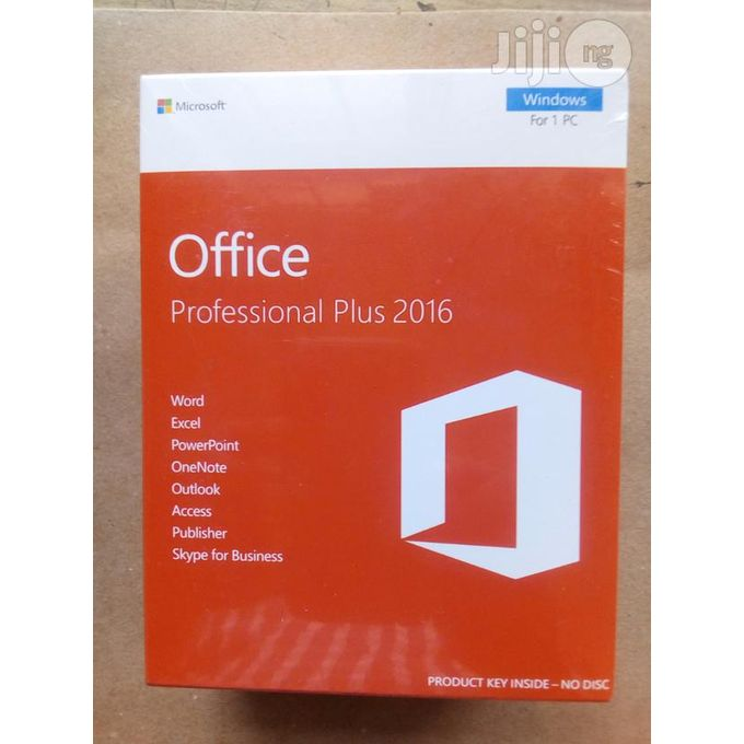 Office Professional 2016 price