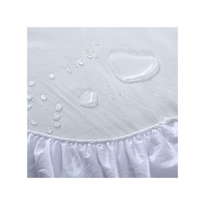 Generic 6 X 6 Mattress Protector - White @ Best Price