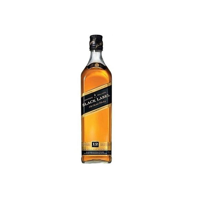 Black Label Price >> Black Label Premium Scotch Whisky 12 Years 750 Ml 40