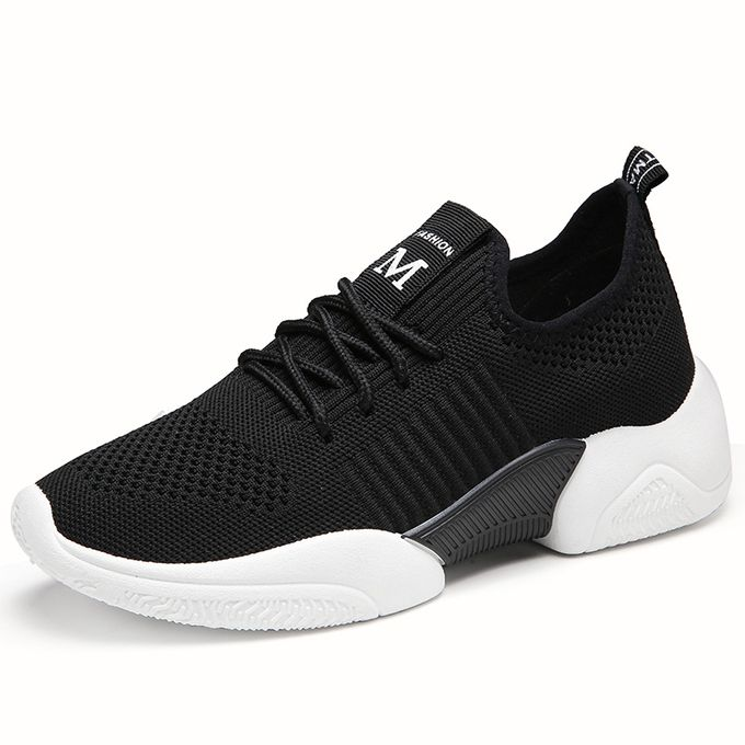 product_image_name-Fashion-Womens Sneakers Female Sports Shoes-Black-1