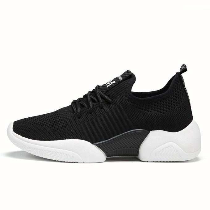 product_image_name-Fashion-Womens Sneakers Female Sports Shoes-Black-2