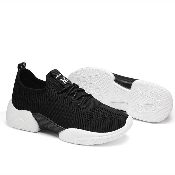 product_image_name-Fashion-Womens Sneakers Female Sports Shoes-Black-6