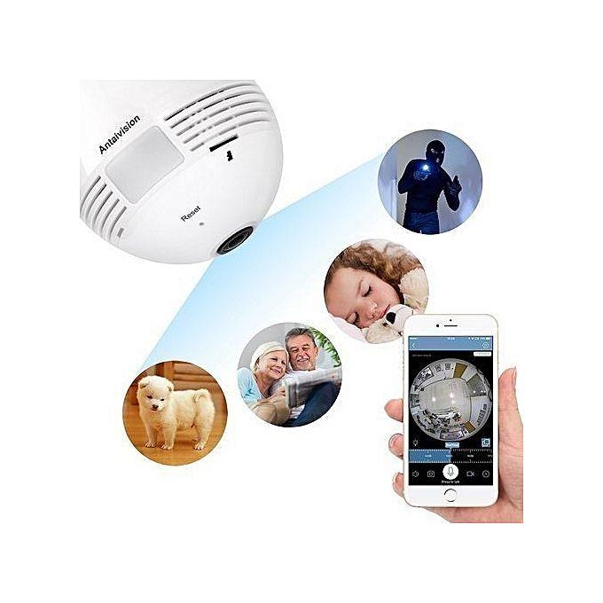 Camera Bulb-CCTV bulb -wifi panorama bulb