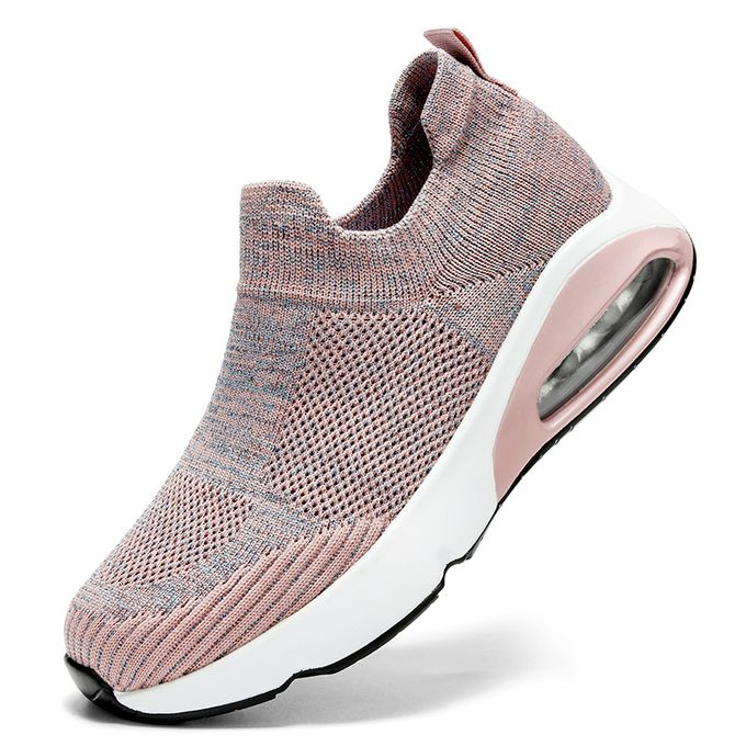 product_image_name-Fashion-Big Size Women Sneaker Female Sports Shoes-Pink-1
