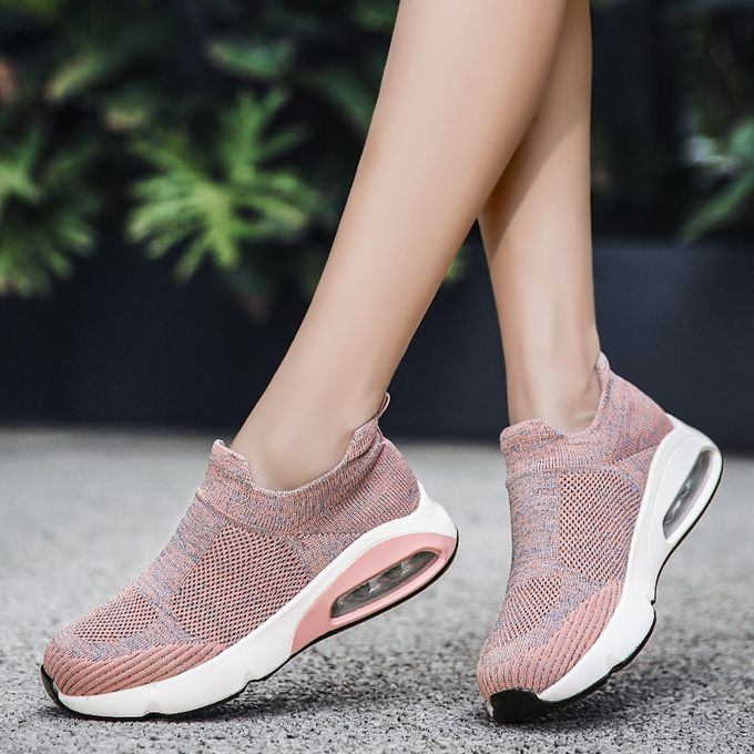 product_image_name-Fashion-Big Size Women Sneaker Female Sports Shoes-Pink-7