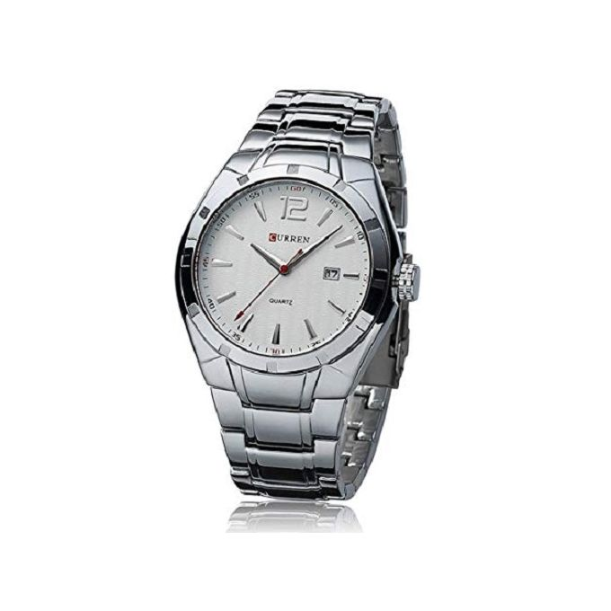 product_image_name-Curren-Curren Watch 8103 Silver Watch-1