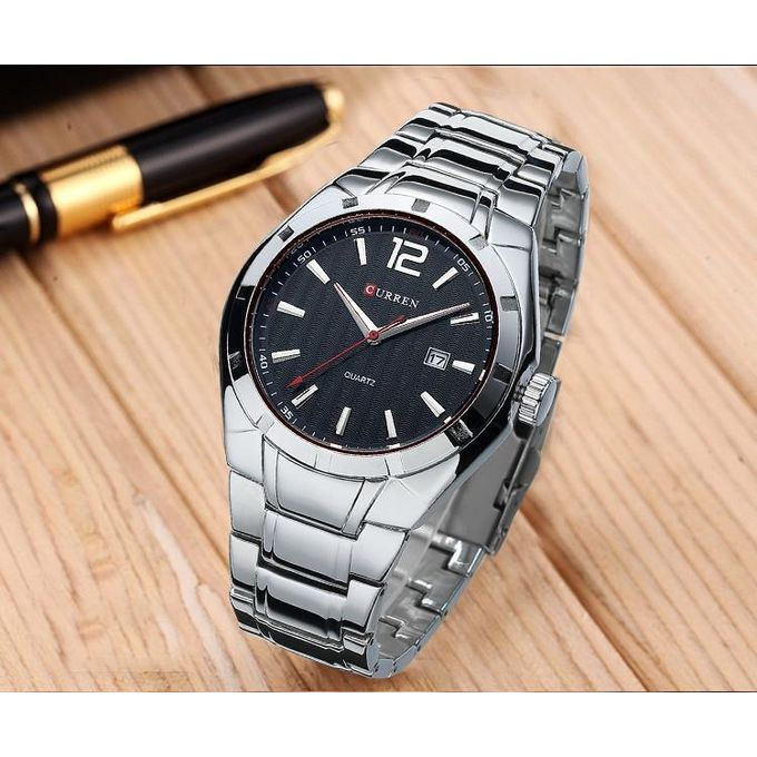 product_image_name-Curren-Curren Watch 8103 Silver Watch-2