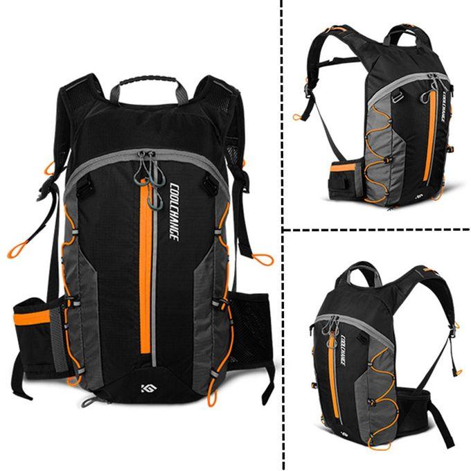 MTB 10L Bicycle Cycling Backpack Bladder Bag Hydration Pack Hiking Camping