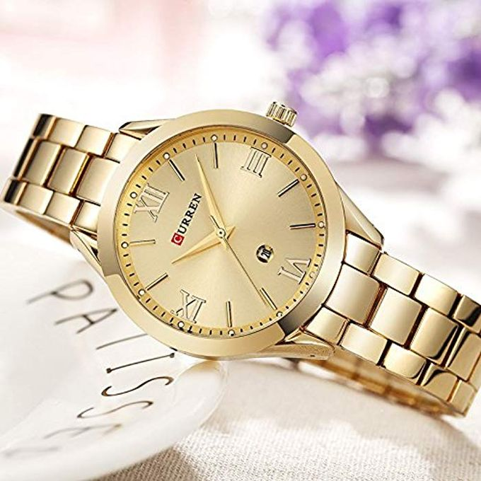product_image_name-Curren-Curren Watch 9007 Gold -1