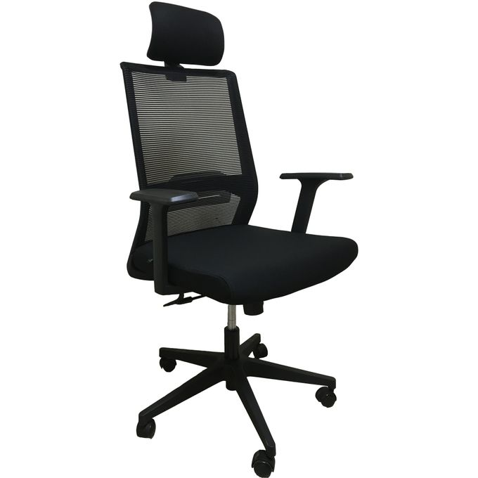 Awesome New Arrival Ergonomic High Back Office Chair With Mesh Back And Fabric Seat Gmtry Best Dining Table And Chair Ideas Images Gmtryco