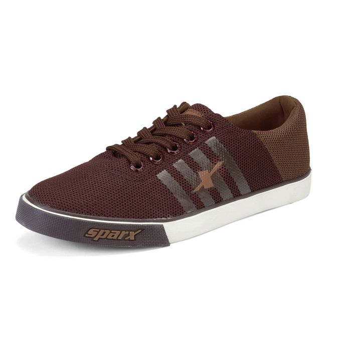 product_image_name-Sparx-Brown Tan SM 408 - Men Casual Lifestyle Shoes-1