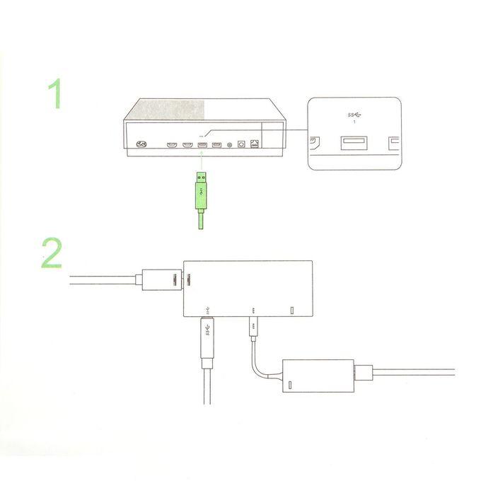 OR Adapter for Xbox One S/X Windows 10 PC with EU US UK Plug Power  Supply-Black-EU plug