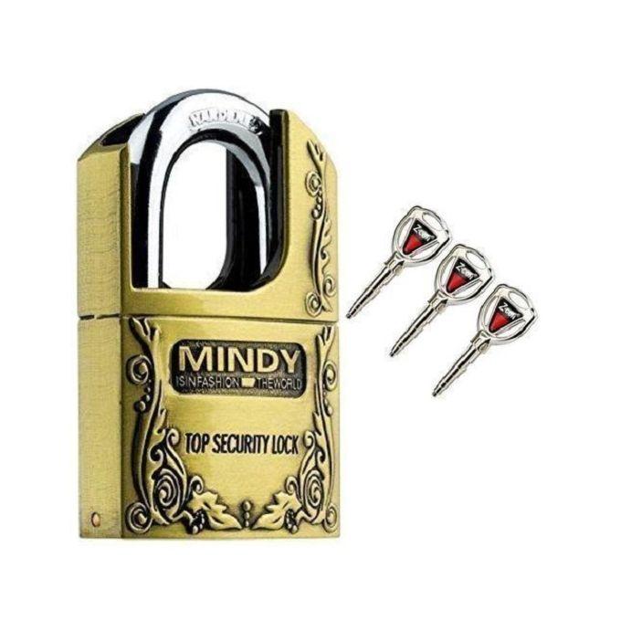 product_image_name-Mindy-70mm Mindy Top Anti-Burglar Theft Zinc Alloy High Security Padlock with 3 Keys-1