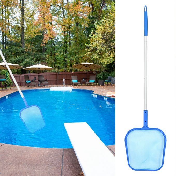 Swimming Pool Cleaning Tools Pool Leaf Rake Net Cleaning Skimmer with Rod  Cleaning Accessories