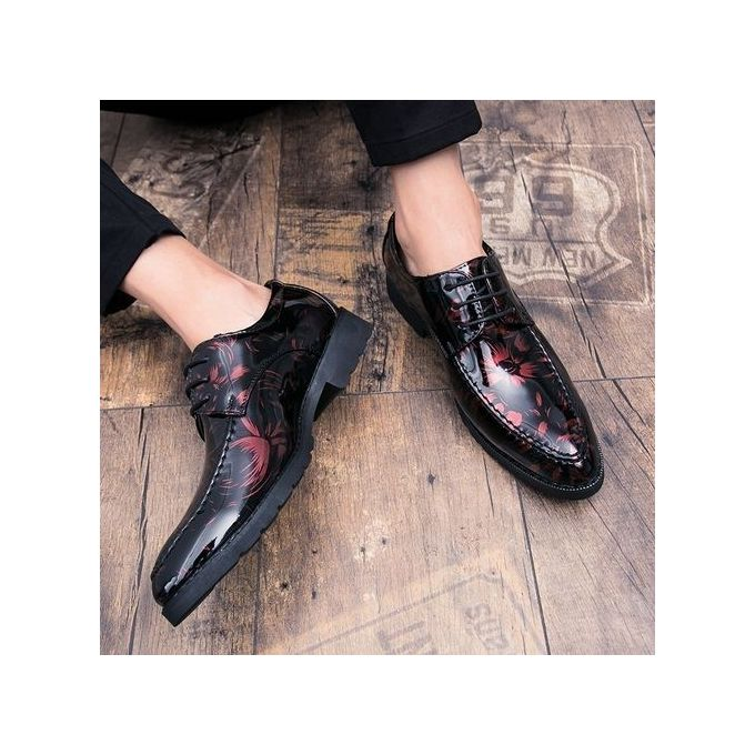 product_image_name-Fashion-2018 Men's New Short Dagger Tips Dress Small Suit Slim Fit Shoes-2